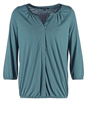 Comma Long Sleeved Top Green Mint