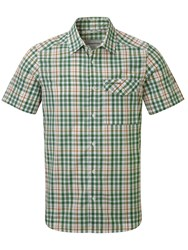 Craghoppers Lomand Short Sleeved Shirt Green