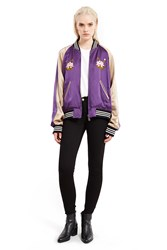 G.V.G.V. Reversible Souvenir Jacket Purple