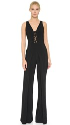 Giamba Sleeveless Jumpsuit Black