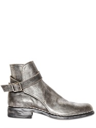 Premiata Metallic Leather Boots
