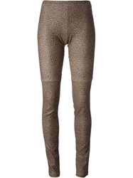 Mes Demoiselles 'Esther' Leggings Nude And Neutrals