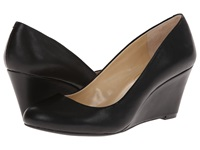 Jessica Simpson Sampson Black Sleek Women's Wedge Shoes