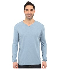 Agave Denim Yuma One Button Long Sleeve Crew Citadel Men's Clothing Gray