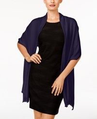 Inc International Concepts Satin Wrap Only At Macy's Navy