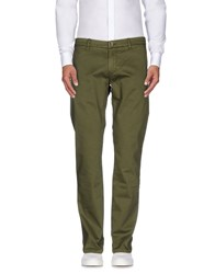 Re Hash Trousers Casual Trousers Men Military Green