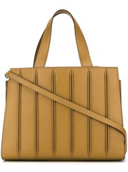 Max Mara 'Designed By Renzo Piano Building Workshop' Tote Yellow Orange