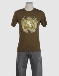 Freesoul Short Sleeve T Shirts Military Green