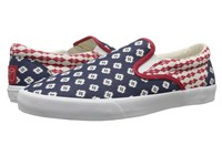 Bucketfeet Republic Navy Men's Slip On Shoes