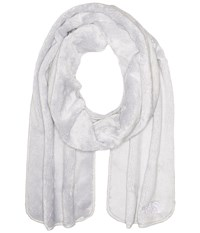 The North Face Denali Thermal Scarf Lunar Ice Grey Scarves Bone
