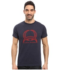 Cinch Soft Hand Jersey Tee Short Sleeve Navy Men's Clothing