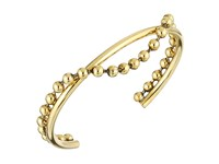 Marc Jacobs Hanging Ball Chain Cuff Bracelet Antique Gold