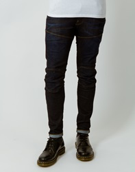 G Star G Star 5620 Super Slim Jean Stretch Denim Blue