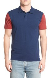 Men's Quiksilver 'Baysick' Colorblock Polo