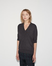 6397 Elbow Perfect Pullover Charcoal