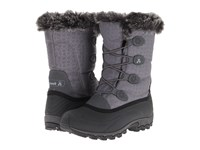 Kamik Momentum Charcoal Women's Cold Weather Boots Gray