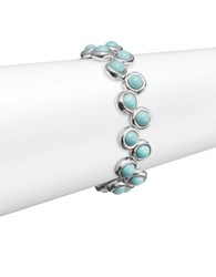Uno De 50 Beaded Toggle Bracelet Turquoise