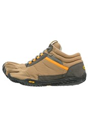 Vibram Fivefingers Trek Ascent Insulated Walking Trainers Tan Grey Black