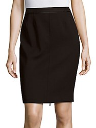 Narciso Rodriguez Solid Column Skirt Black