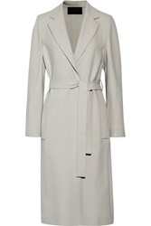 Calvin Klein Collection Cady Trench Coat Light Gray