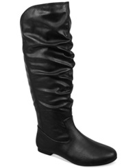 Fergalicious Jackpot Tall Shaft Slouch Boots Women's Shoes Black