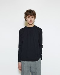 Marni Back Tie Shirt Black