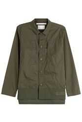 White Mountaineering Cotton Jacket Green