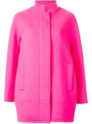 Gianluca Capannolo Standing Collar Jacket Pink And Purple