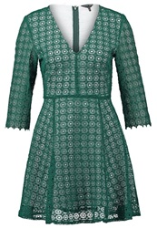 Sister Jane Harvest Moon Summer Dress Green Dark Green