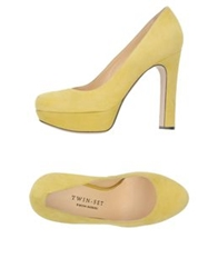 Twin Set Simona Barbieri Pumps Acid Green