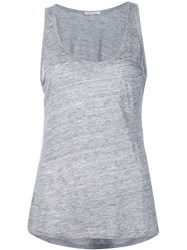 Onia 'Irene' Pocket Tank Top Grey
