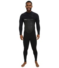 O'neill Superfreak Front Zip 4 3 Black Black Black Men's Wetsuits One Piece