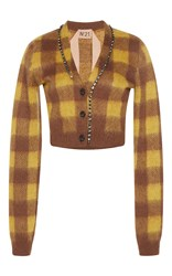 N 21 No. Stana Checked Cardigan Plaid