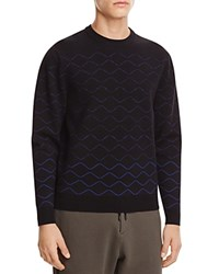 Public School Wave Sweater Blue Black