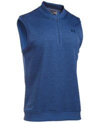 Under Armour Storm Fleece Half Zip Vest Blue