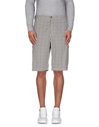 Armani Jeans Trousers Bermuda Shorts Men Grey
