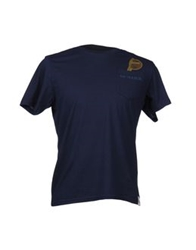 Sundek Short Sleeve T Shirts Dark Blue