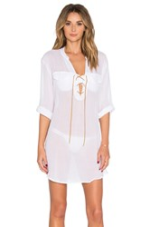 Eberjey Summer Of Love Riley Cover Up White