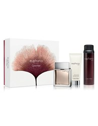 Calvin Klein Euphoria For Men Gift Set 125.00 Value No Color