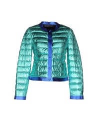 Blancha Coats And Jackets Down Jackets Women Turquoise