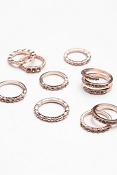 Free People Traveling Storm Stacking Rings
