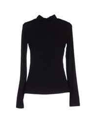 Plein Sud Jeanius Turtlenecks Black