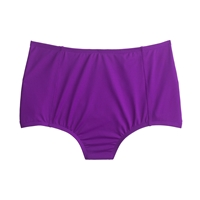 J.Crew Italian Matte High Waist Bikini Brief Fiesta Purple