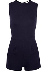 Kain Label Pico Ribbed Stretch Jersey Playsuit Blue