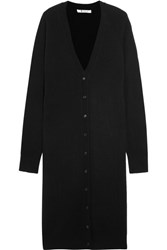 Alexander Wang T By Wool And Cashmere Blend Cardigan Black