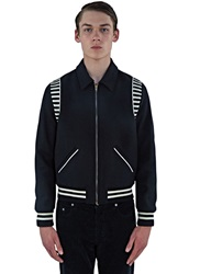 Men's Jackets Clothing Find More At Ln Cc Ray Striped Teddy Jacket