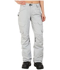 686 Glcr Geode Thermograph Pants Light Grey Diamond Dobby Women's Casual Pants Gray