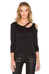 Lna Long Sleeve Slash Tee Black