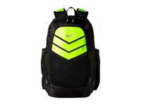 Nike Vapor Power Backpack Black Volt Metallic Silver Backpack Bags