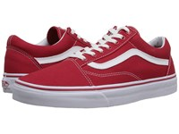 Vans Old Skool Canvas Formula One Skate Shoes Red